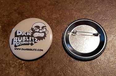 Dan Bublitz Jr Comedy Logo Button
