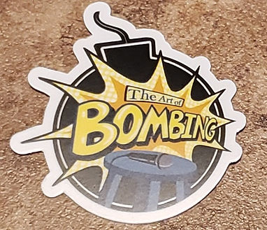 Art of Bombing Logo Sticker