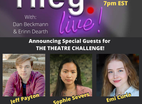 rileyLIVE! Episode 102: Theatre! (ft. Sophie Severs, Jeffrey Payton & Emi Curia)