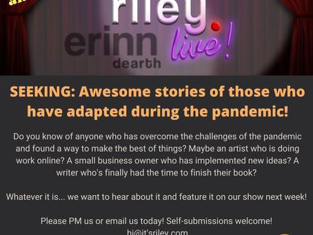Seeking Motivational & Inspirational Stories!
