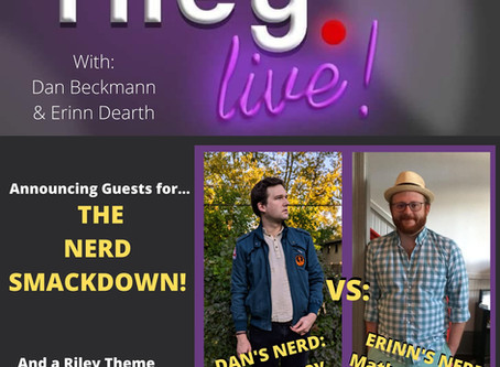 rileyLIVE! Episode 103: The Nerd Smackdown! (ft. Mat Schantz and Joe Heaney)