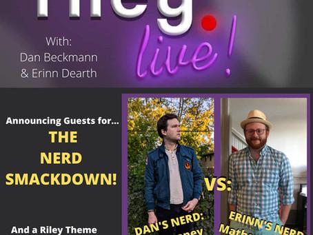 rileyLIVE! Episode 103: The Nerd Smackdown! (ft. Mat Schantz and Joe Heaney)