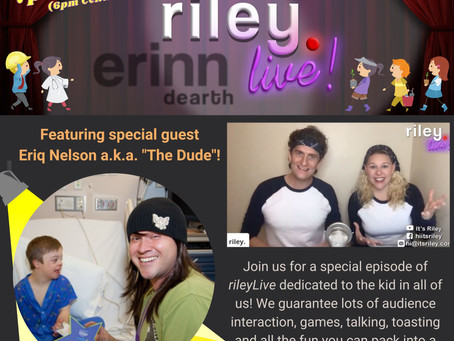 Join us - LIVE - Tuesday January 19th!