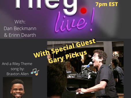 rileyLIVE! Episode 104: Drop the Needle! (ft. Gary Pickus)