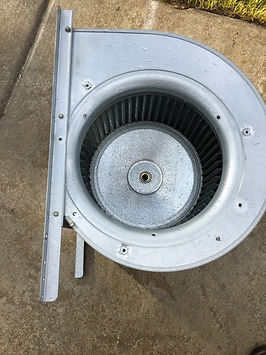 Furnace Blower Motor - Cleaned