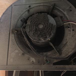 Dirty Furnace Blower Motor