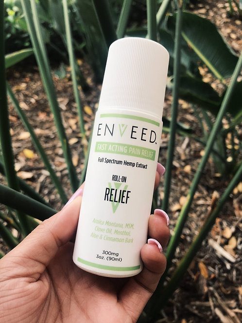 Enveed 3oz 300mg Relief ROLL-ON
