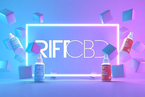 Rift 1500mg Berry Isolate 1oz Spray