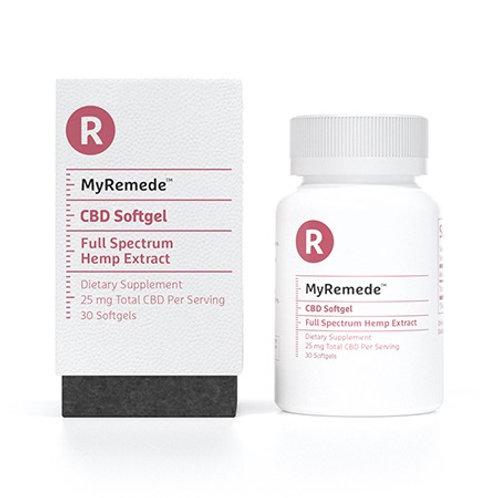 MyRemede 30ct 25mg Softgel