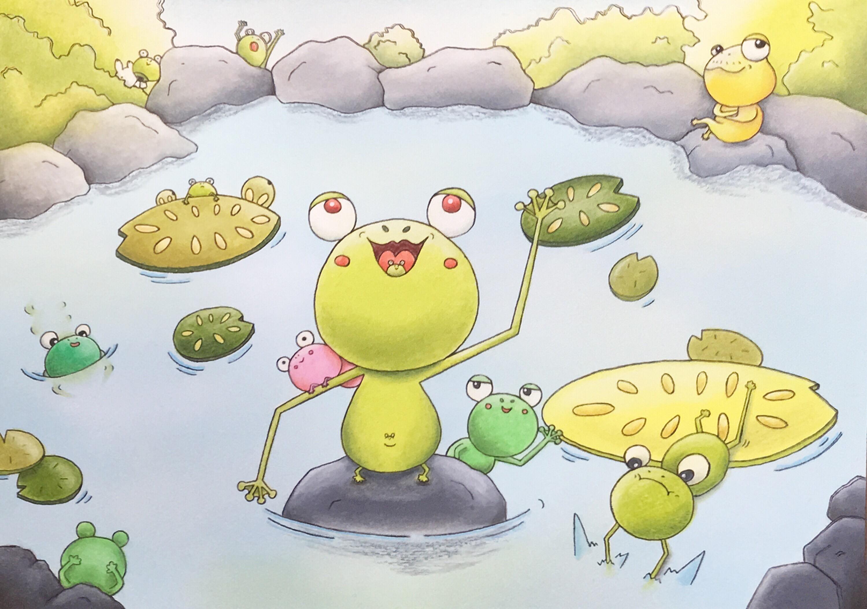 2019.6 「癒しのカエルたち」