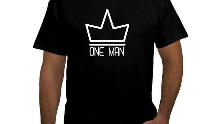 ONE MAN EASTER TEE