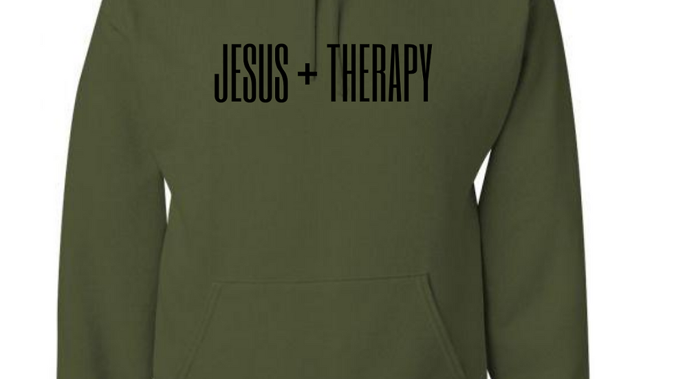 JESUS + THERAPY (Hoodie)