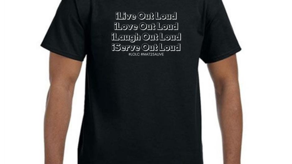 LOLC - I Serve Volunteer (Tee)