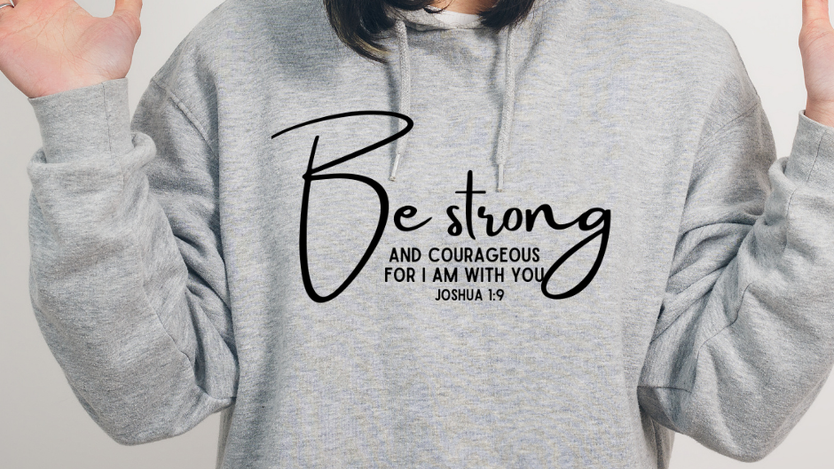 BE COURAGEOUS (Hoodie)