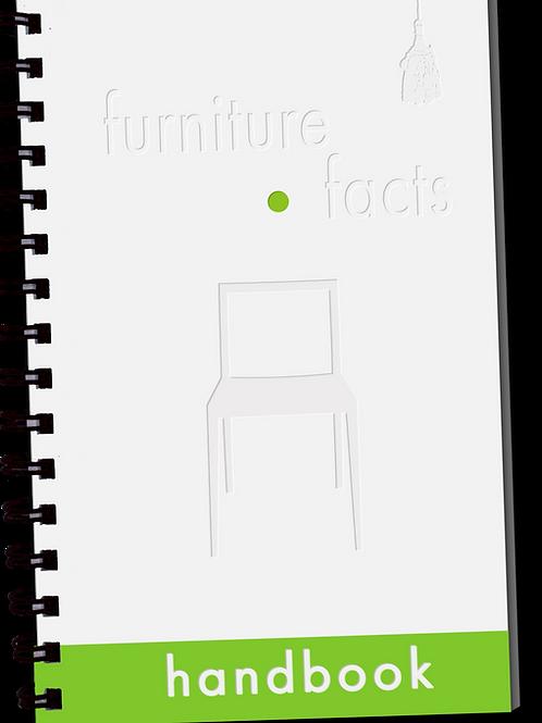 PRESALE Furniture Facts Portable Handbooks