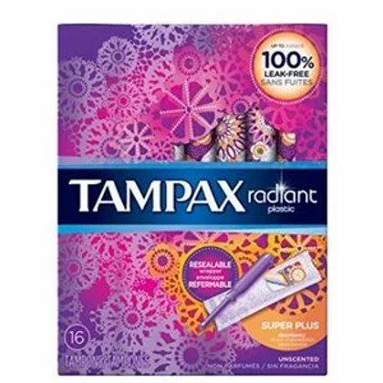 TAMPAX卫生棉条16个(导管型)