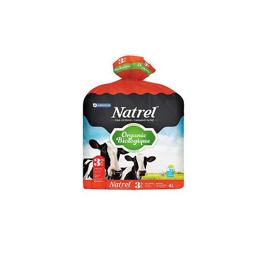 Natrel 3.8%  organic4L