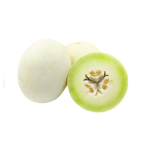 新鲜白密瓜