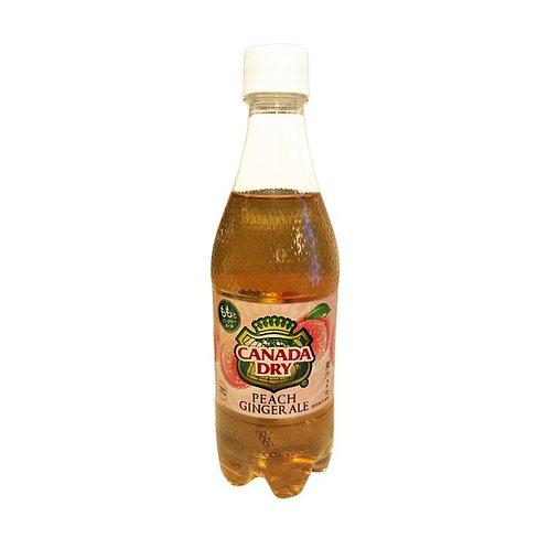 Canada dry 桃子味 500ml