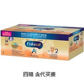 代买ENFAMIL A+ 2, Ready to Feed Baby Formula, 18 x 237mL