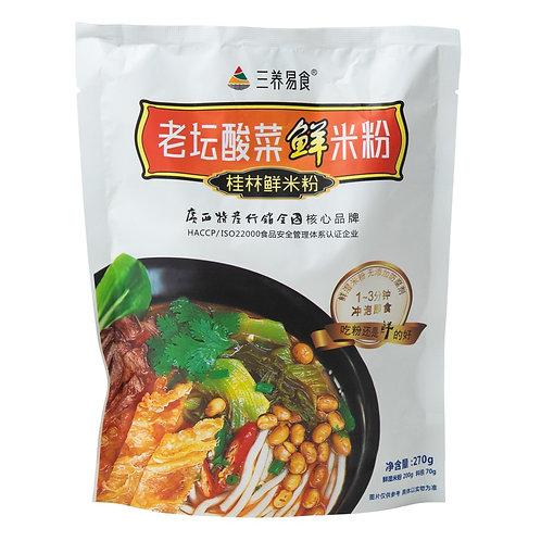 三養易食老坛酸菜米粉270g