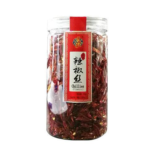 月月红辣椒丝80G