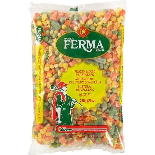 Ferma mixed vegetables 750g