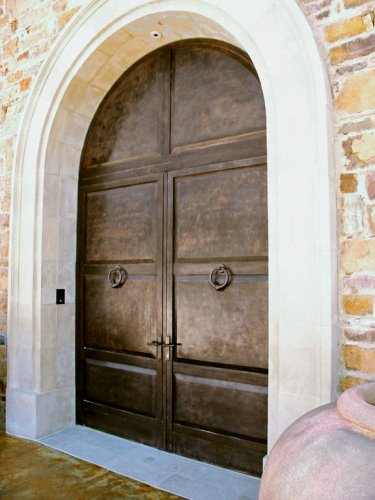 Architectural Bronze Entry Door