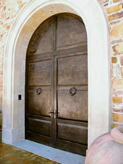 Architectural Bronze Entry Door
