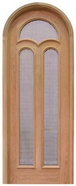 Custom Door with Screen Mesh