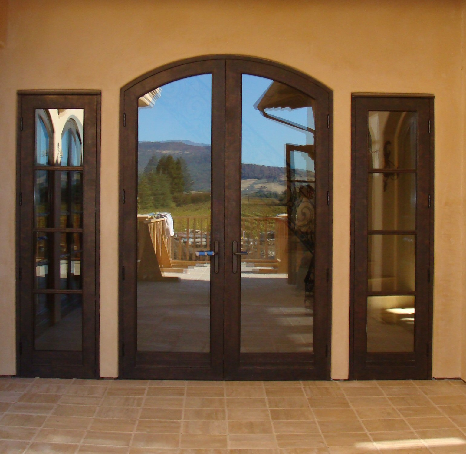 Bronze Clad Door Pair