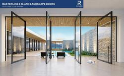 Reynaers MasterLine 8XL Pivot Doors