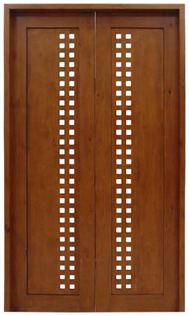 Custom Door with Cut Outs