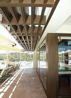 Architectural Bronze Canopy