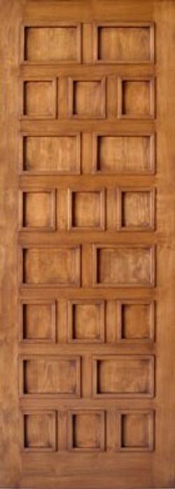 Custom Designed Multi Panel Door