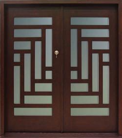 Contemporary Door - Old World Door