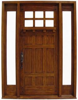 6 Panel Door & Sidelites