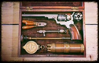 Colt Paterson Lubrication, lubricating Colt Paterson, Musket Lubrication, Cap-and-Ball revolver lubrication, how to lubricate a cap-and-ball revolver