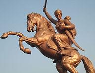 Rani Laxshmibai, Rani Lakshmi Bai, Maratha Empire, Maharaja of Jhansi, Rani Mahal, Lord Dalhousie, Badal