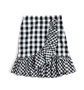 Gingham skirt from JCrew