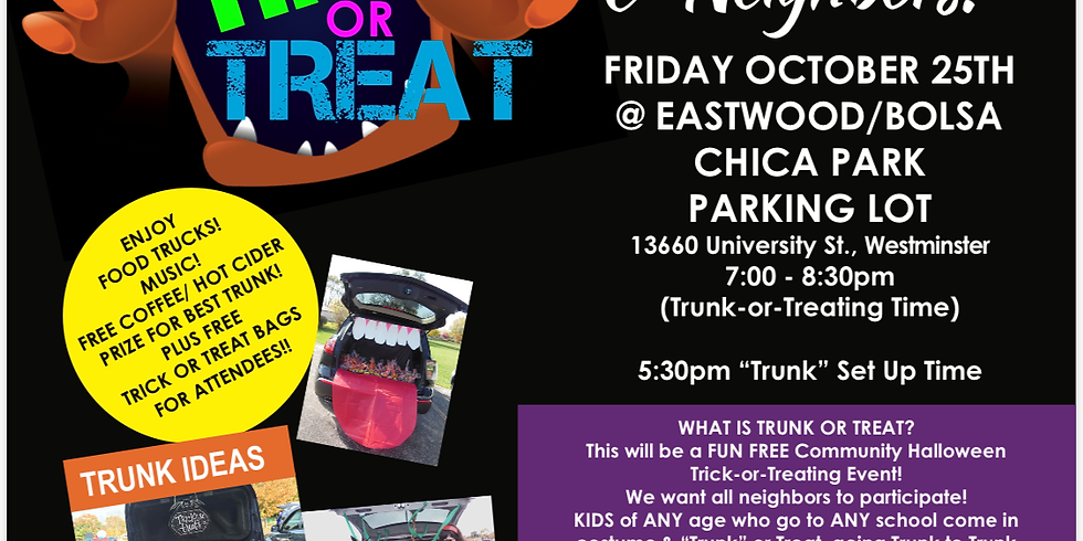 Trunk or Treat-Hosted by Laura Rose, Real Estate Broker