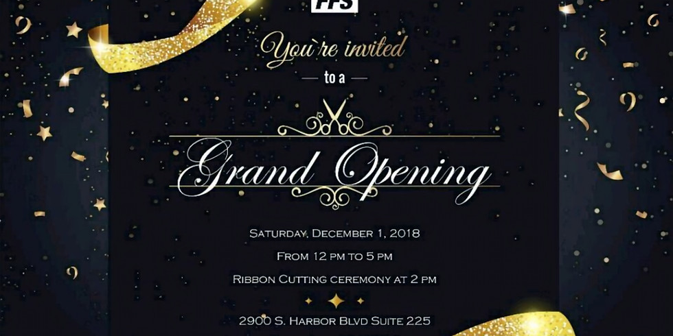 Grand Opening for FFS