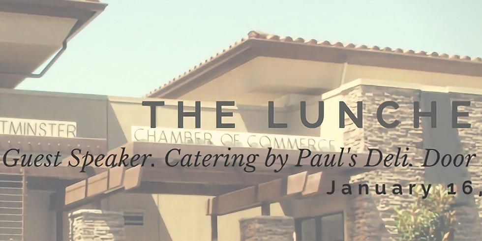 January Luncheon