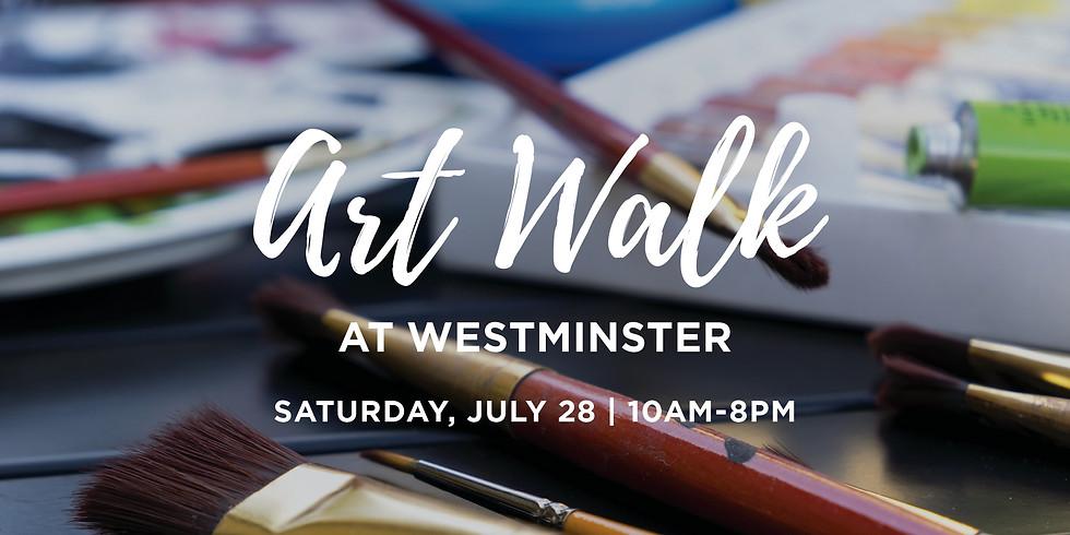 Art Walk @ Westminster: Summer Edition (1)