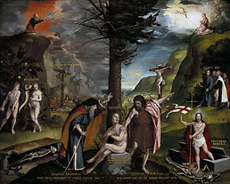 Easter 5 A. Old and New Testaments. Hans Holbein.jpg