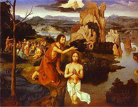 Baptism of Our Lord. joachim-patenier-th