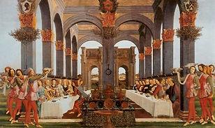 Proper 16 C. botticelli. parableofthewed