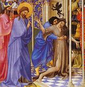 Proper 19 B. JesusCastingOutUncleanSpirit.png