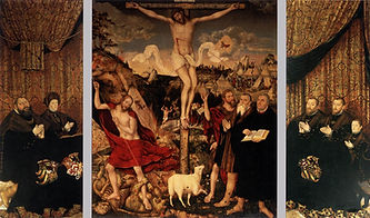 Weimar Altarpiece by Lucas Cranach the Y