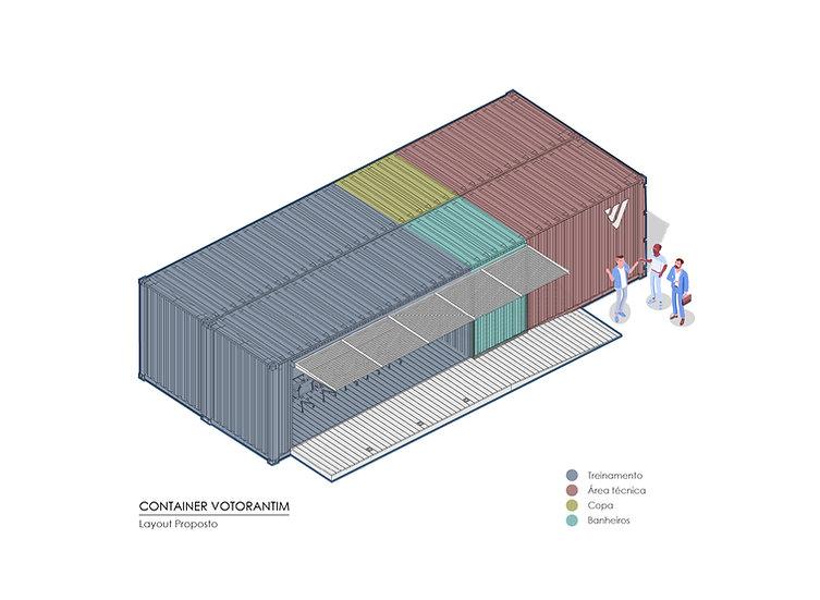 Container Votorantim por MEIUS ARQUITETURA, BERNARDO HORTA ARQUITETOS